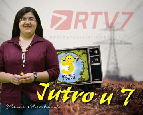 Gostovali smo u jutarnjem programu RTV 7 Tuzla