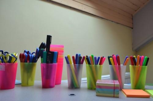 """Radni materijal - U trening kući za mlade možete računati na radni materijal koji će Vas dočekati u trening sali za aktivno učenje """"Osman Hasić""""."""