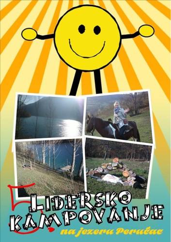 Lidersko kampovanje na jezeru Perućac