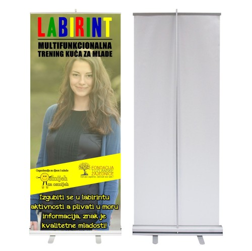 Roll up baner LABIRINT