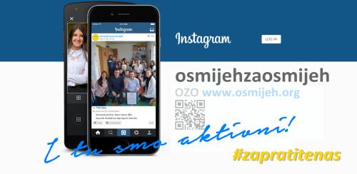 Pratite nas i na Instagramu!
