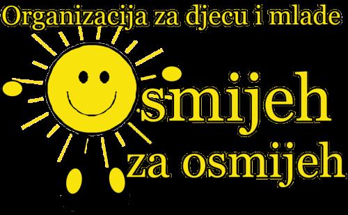 """Originalni logo Organizacije """"Osmijeh za Osmijeh"""""""
