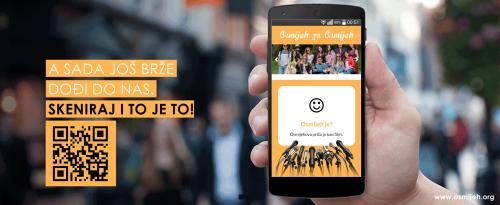 Naša stranica je prilagođena svim pametnim telefonima, skenirajte kod i odmah smo tu!